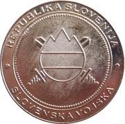 Token - Slovenska vojska (Generalmajor dr. Andrej Osterman) – reverse
