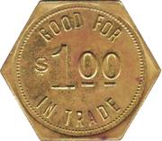 1 Dollar- N.C.O. Mess (Offutt Air Force Base, Nebraska) – reverse