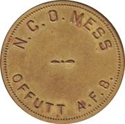 1 Dollar - N.C.O. Mess (Offutt Air Force Base, Nebraska) – obverse