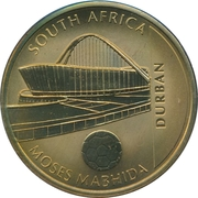 Token - For the World Championship of Football (Durban - Moses Mabhida) – obverse
