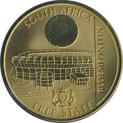 Token - For the World Championship of Football (Bloemfontein) – obverse