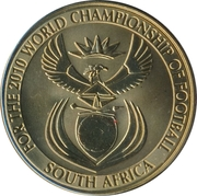 Token - For the World Championship of Football (Australia) – reverse