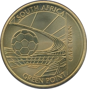 Token - For the World Championship of Football (Cape Town - Green Point) – obverse