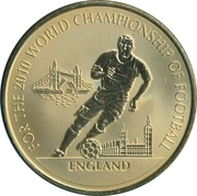 Token - For the World Championship of Football (England) – obverse