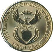 Token - For the World Championship of Football (England) – reverse