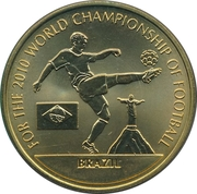 Token - For the World Championship of Football (Brazil) – obverse