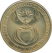 Token - For the World Championship of Football (Johannesburg - Ellis Park) – reverse
