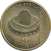 Token - For the World Championship of Football (Johannesburg - Soccer City) – obverse