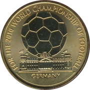 Token - For the World Championship of Football (Germany) – obverse
