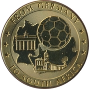 Token - For the World Championship of Football (From Germany to South Africa) – obverse