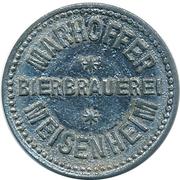 1 Glas Bier - Marhoffer Bierbrauerei (Meisenheim) – obverse