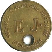 100 Öre - EJ Sveriges Tivoliägare Förening (Stockholm) – obverse