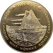 Royal Canadian Mint Medal - Ottawa & Winnipeg – reverse