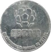 Token -1970 FIFA World Cup (Brasil) – reverse