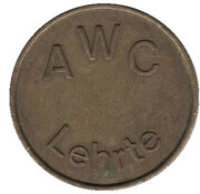 Car wash token - AWC Lehrte – obverse
