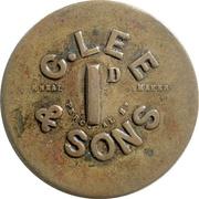 1 Penny - C. Lee & Sons (Crockenhill, Kent) – obverse