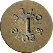 1 Penny - C. Lee & Sons (Crockenhill, Kent) – reverse