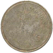 1 Dollar - Bormann Gen. Mdse. (Wesley, Texas) – obverse