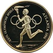 Token - 1996 Summer Olympics, Atlanta – obverse