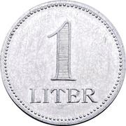 1 Liter - Hofbräuhaus (Munich) – reverse