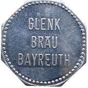 1 Bier - Glenk Bräu (Bayreuth) – obverse
