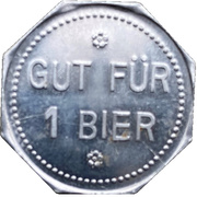 1 Bier - Glenk Bräu (Bayreuth) – reverse