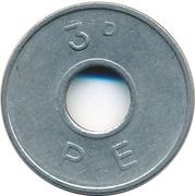 3 Pence - PE -  obverse