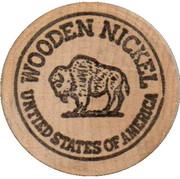 Wooden Nickel - Love Mobile Homes – reverse