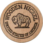 Wooden Nickel - Buy Any Breakfast – reverse