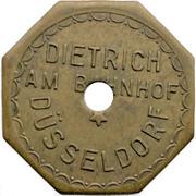 1 Bier - Dietrich am Bahnhof (Düsseldorf) – obverse