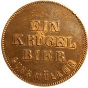 1 Krügel Bier - Guhrmüller (Dresden) – obverse