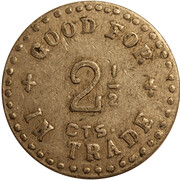 2 ½ Cents - Colonial Alleys – reverse