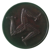 ½ Penny - Onchan Internment Camp (POW Token Coinage; Isle of Man) – reverse