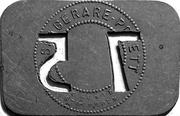 75 Öre - Stockholms Ångslups Aktiebolag – reverse