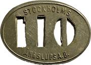 110 Öre - Stockholms Ångslups Aktiebolag – obverse