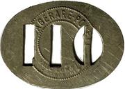 110 Öre - Stockholms Ångslups Aktiebolag – reverse