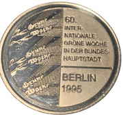 Token - 60th International Green Week, Berlin 1995 – reverse