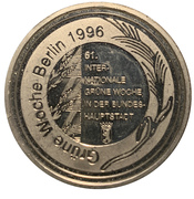 Token - 61st International Green Week, Berlin 1996 – reverse