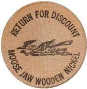 Wooden Nickel - Road Runner Lube & Tune – reverse