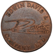 2 New Pence - Edwin Davis & Company Ltd. – obverse