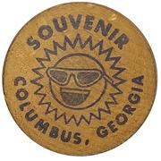 Wooden Nickel - Festival Days (Columbus, Georgia) – reverse