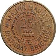 25 Cents - Major Magic's (Sylvania, Ohio) – reverse