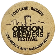 Wooden Nickel - Oregon Brewers Festival (Portland, Oregon) – obverse