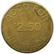 2½ Dollars - Monte's (Marion, Oregon) – reverse