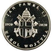 Token - Sv. Ján Pavol II – reverse
