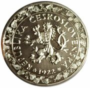 Token - Československá Koruna 100th Anniversary – reverse
