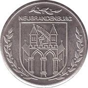Token - Neubrandenburg (Stargarder Tor) – reverse