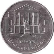 Token - 1000 Jahre Weimar – obverse
