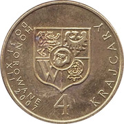 4 Krajcary - Wroclaw – reverse