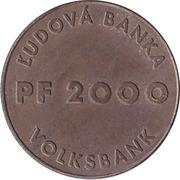 Token - Ludova Banka (Volksbank) – reverse